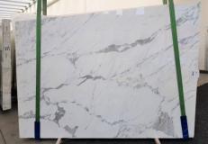 Fornitura lastre lucide 2 cm in marmo naturale CALACATTA ORO EXTRA GL 1043. Dettaglio immagine fotografie