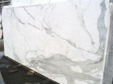 Fornitura lastre grezze lucide 2 cm in marmo naturale CALACATTA ORO EDM25108. Dettaglio immagine fotografie