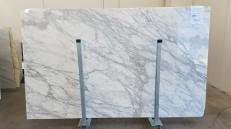 Fornitura lastre grezze lucide 3 cm in marmo naturale CALACATTA ORO GL 999. Dettaglio immagine fotografie