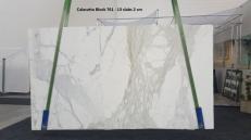Fornitura lastre grezze lucide 2 cm in marmo naturale CALACATTA ORO GL 761. Dettaglio immagine fotografie
