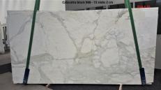 Fornitura lastre grezze lucide 2 cm in marmo naturale CALACATTA ORO GL 988. Dettaglio immagine fotografie