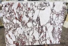 Fornitura lastre lucide 2 cm in marmo naturale CALACATTA VAGLI ROSATO AA R125. Dettaglio immagine fotografie