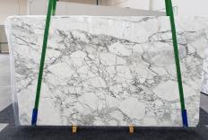 Fornitura lastre grezze lucide 2 cm in marmo naturale CALACATTA VAGLI VENA FINA 1254. Dettaglio immagine fotografie