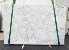 Fornitura lastre grezze lucide 3 cm in marmo naturale CALACATTA VAGLI VENA FINA 1201. Dettaglio immagine fotografie