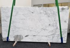 Fornitura lastre grezze lucide 2 cm in marmo naturale CALACATTA VAGLI VENA FINA #1374. Dettaglio immagine fotografie