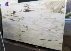 Fornitura lastre grezze lucide 2 cm in marmo naturale CALACATTA VAGLI VENA FINA Z0045. Dettaglio immagine fotografie