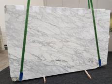 Fornitura lastre grezze lucide 2 cm in marmo naturale CALACATTA VAGLI VENA FINA GL 1128. Dettaglio immagine fotografie