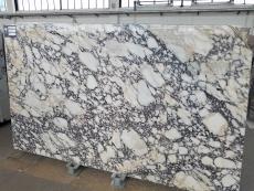 Fornitura lastre grezze lucide 2 cm in marmo naturale CALACATTA VIOLA T0400. Dettaglio immagine fotografie