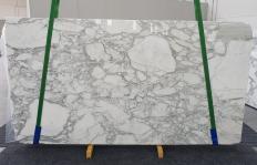 Fornitura lastre grezze lucide 2 cm in marmo naturale CALACATTA 1230. Dettaglio immagine fotografie