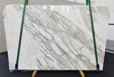 Fornitura lastre grezze lucide 2 cm in marmo naturale CALACATTA 1344. Dettaglio immagine fotografie
