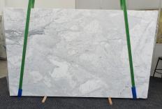 Fornitura lastre grezze lucide 2 cm in marmo naturale CALACATTA 1436. Dettaglio immagine fotografie