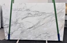 Fornitura lastre grezze lucide 2 cm in marmo naturale CALACATTA 1188. Dettaglio immagine fotografie