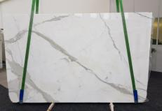Fornitura lastre lucide 3 cm in marmo naturale CALACATTA GL 1108. Dettaglio immagine fotografie
