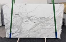 Fornitura lastre lucide 2 cm in marmo naturale CALACATTA 1188. Dettaglio immagine fotografie