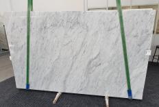 Fornitura lastre grezze lucide 2 cm in marmo naturale CARRARA 1240. Dettaglio immagine fotografie