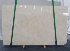 Fornitura lastre grezze lucide 2 cm in marmo naturale CREMA MARFIL 1268. Dettaglio immagine fotografie