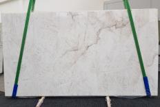 Fornitura lastre grezze levigate 2 cm in quarzite naturale CRISTALLO 1163. Dettaglio immagine fotografie