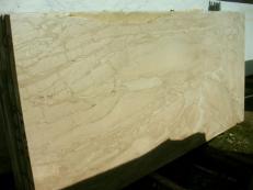 Fornitura lastre grezze lucide 2 cm in marmo naturale DAINO REALE SRC0398. Dettaglio immagine fotografie