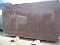 Fornitura lastre grezze lucide 2 cm in granito naturale DAKOTA MAHOGANY EDM25114. Dettaglio immagine fotografie