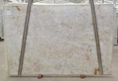 Fornitura lastre grezze lucide 3 cm in quarzite naturale DIAMOND CRISTALLO BQ02287. Dettaglio immagine fotografie