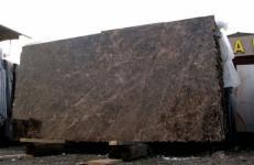 Fornitura lastre grezze lucide 2 cm in marmo naturale EMPERADOR OSCURO E-210106. Dettaglio immagine fotografie