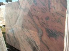 Fornitura lastre grezze lucide 2 cm in marmo naturale ETOWAA PINK EM_0224. Dettaglio immagine fotografie
