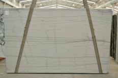 Fornitura lastre grezze lucide 3 cm in quarzite naturale EXOTIC WHITE 2478. Dettaglio immagine fotografie
