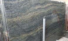 Fornitura lastre grezze lucide 2 cm in granito naturale EXPLOSION BLUE A0421. Dettaglio immagine fotografie