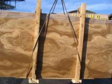 Fornitura lastre grezze lucide 2 cm in onice naturale FOSSIL ONYX DARK E_1988. Dettaglio immagine fotografie