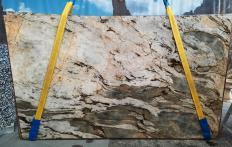 Fornitura lastre grezze lucide 2 cm in quarzite naturale FUSION MISTIC A0113. Dettaglio immagine fotografie