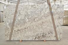 Fornitura lastre lucide 3 cm in granito naturale GALAXY WHITE 01099. Dettaglio immagine fotografie