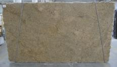 Fornitura lastre grezze lucide 3 cm in granito naturale GIALLO VENEZIANO C-16777. Dettaglio immagine fotografie