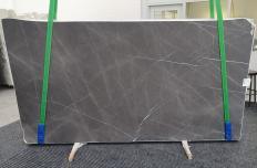 Fornitura lastre grezze levigate 2 cm in marmo naturale GRAFFITE 1325. Dettaglio immagine fotografie