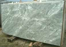 Fornitura lastre grezze lucide 2 cm in marmo naturale GREEN ANTIGUA E_S329. Dettaglio immagine fotografie