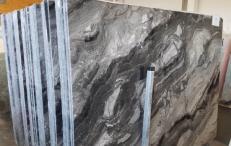 Fornitura lastre grezze lucide 2 cm in marmo naturale GRIGIO OROBICO AA T0044A. Dettaglio immagine fotografie