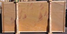 Fornitura lastre grezze lucide 2 cm in onice naturale HONEY ONYX 14361_L5. Dettaglio immagine fotografie