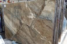 Fornitura lastre grezze lucide 2 cm in marmo naturale ILLUSION BRONZE U0103. Dettaglio immagine fotografie