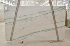 Fornitura lastre grezze lucide 2 cm in quarzite naturale INFINITY GREY 2390. Dettaglio immagine fotografie