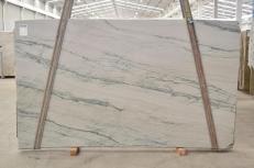 Fornitura lastre lucide 0.8 cm in quarzite naturale INFINITY GREY 2390. Dettaglio immagine fotografie
