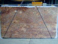 Fornitura lastre grezze lucide 2 cm in granito naturale JUPARANA FLORENCE BORDEAUX CV1JPFL25. Dettaglio immagine fotografie
