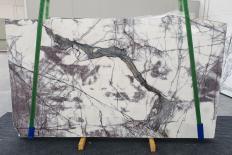 Fornitura lastre grezze lucide 2 cm in marmo naturale LILAC 12601. Dettaglio immagine fotografie