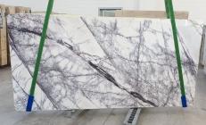 Fornitura lastre grezze lucide 2 cm in marmo naturale LILAC 1205. Dettaglio immagine fotografie