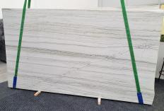 Fornitura lastre grezze lucide 2 cm in quarzite naturale MACAUBAS WHITE 1341. Dettaglio immagine fotografie