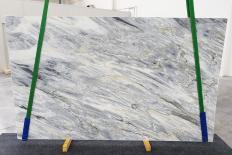 Fornitura lastre grezze levigate 2 cm in marmo naturale MANHATTAN GREY 1207. Dettaglio immagine fotografie
