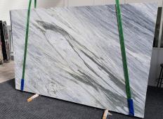 Fornitura lastre grezze levigate 2 cm in marmo naturale MANHATTAN GREY 1357. Dettaglio immagine fotografie