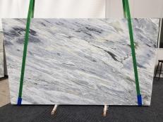 Fornitura lastre grezze lucide 3 cm in marmo naturale Manhattan Grey 1207. Dettaglio immagine fotografie