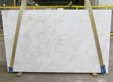 Fornitura lastre grezze lucide 3 cm in marmo naturale MYSTERY WHITE 24915. Dettaglio immagine fotografie