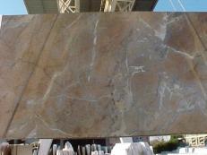 Fornitura lastre grezze lucide 2 cm in marmo naturale NOISETTE FLEURY E_US331. Dettaglio immagine fotografie