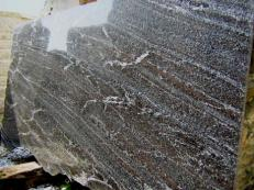 Fornitura lastre grezze lucide 2 cm in granito naturale NORDIC SUNSET E_S5324. Dettaglio immagine fotografie
