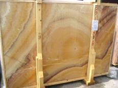 Fornitura lastre grezze lucide 2 cm in onice naturale ONICE ARCOIRIS EDM25109. Dettaglio immagine fotografie